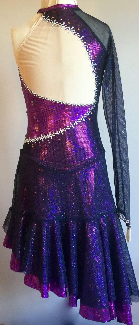Tango Dress/ Ice Dance Dress /Paso Doble by SkatingDressbyKelley
