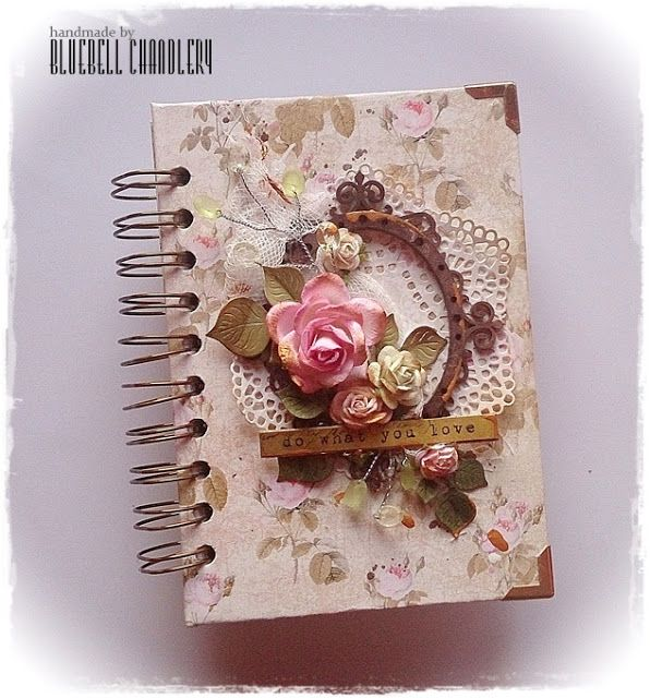 BLUEBELL Chandlery: Cadernos Floral