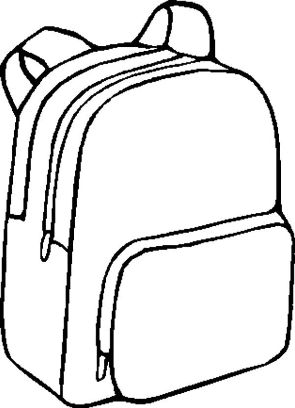 Backpack Coloring Pages 28037 Bestofcoloring Coloring Pages