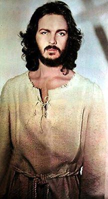 Camilo en su papel de  Jesucristo Superstar año 75