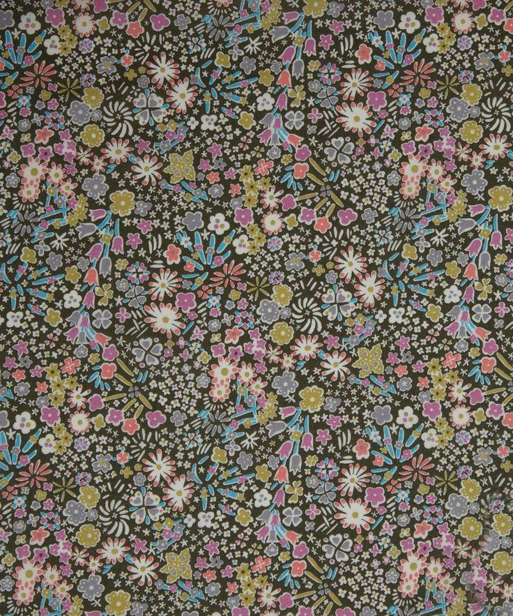 NEW SEASON! Liberty Art Fabrics Kayoko E Tana Lawn   Tana Lawn by Liberty Art Fabrics   Liberty.co.uk