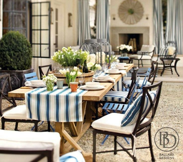ballard designs outdoor garden room pinterest. Black Bedroom Furniture Sets. Home Design Ideas