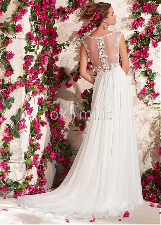 grande immagine 2 Abiti da Sposa Vintage Fancy Esclusivo con Perline Formale