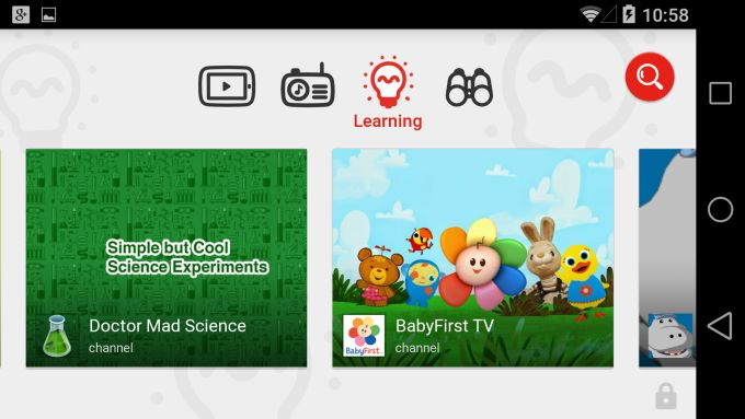 "Hands On With ""YouTube Kids,"" Google's Newly Launched, Child-Friendly YouTube App http://techcrunch.com/2015/02/23/hands-on-with-youtube-kids-googles-newly-launched-child-friendly-youtube-app/"