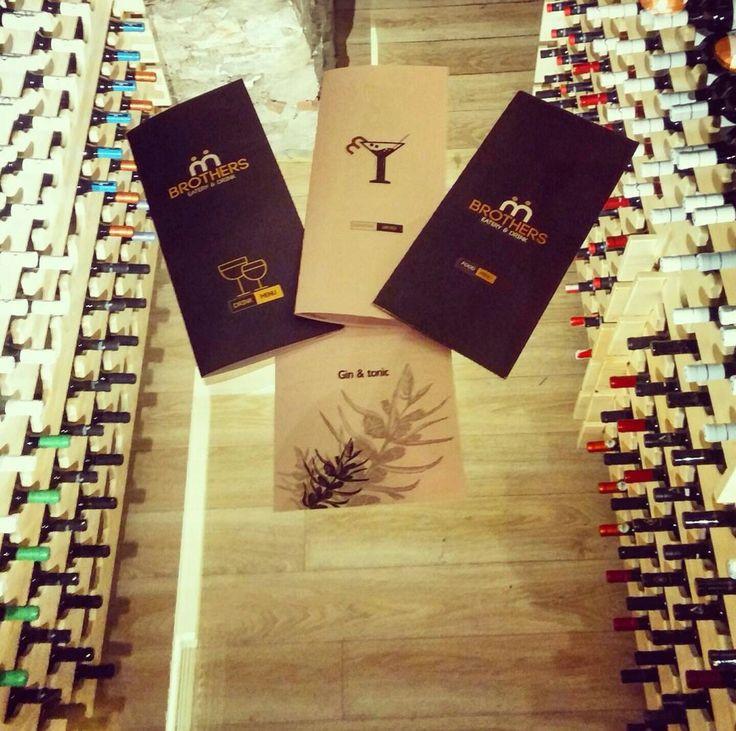 Wine... Menu.. Brothers eatery&drink Karditsa