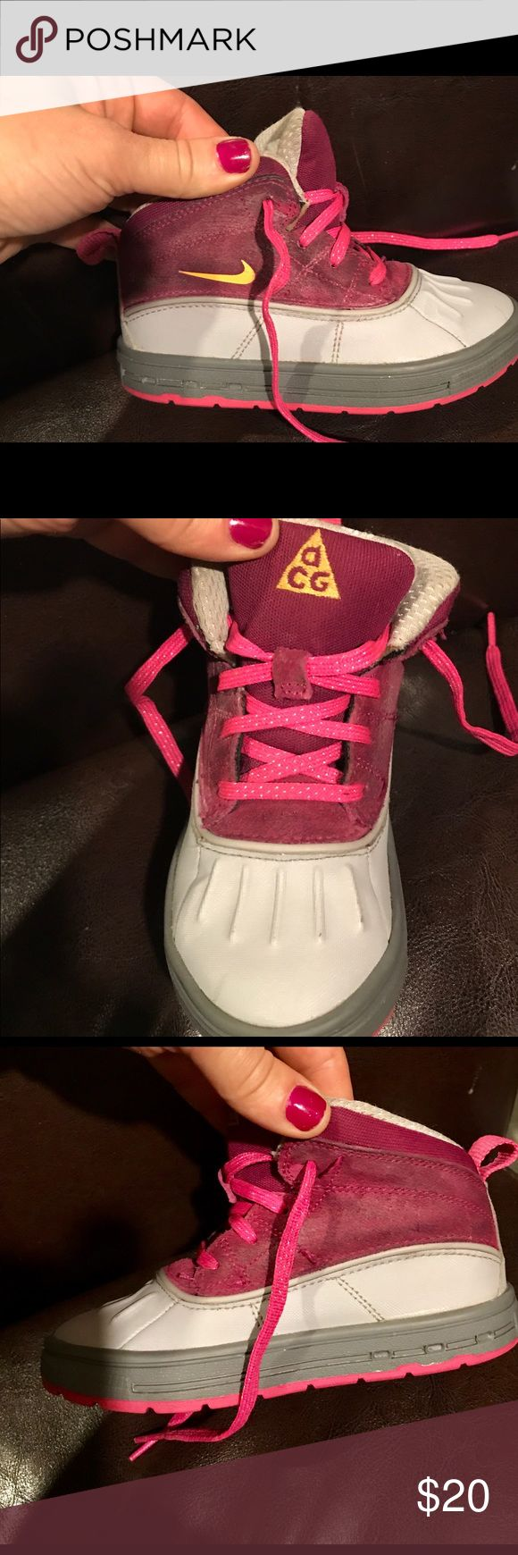 Nike ACG boots 9c toddler Excellent condition. A great alternative to clunky snow boots Nike Shoes Boots