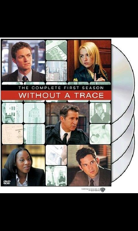 """Without a Trace"" #television #series #CBS"