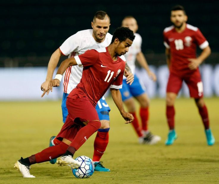 Qatar beat Russia in penalty-strewn friendly   Doha (AFP)  Qatar beat fellow future World Cup hosts Russia in Doha on Thursday in a friendly game which featured four penalties.  A smart 72nd minute header from Karim Boudiaf was enough to secure a morale-boosting 2-1 victory for Qatar ahead of next weeks crucial World Cup qualifier in China.  They also owed their win to a superb 85th minute penalty save from goalkeeper Saad Abdulla Alsheeb who tipped away Alecander Korokins forceful kick.  It…