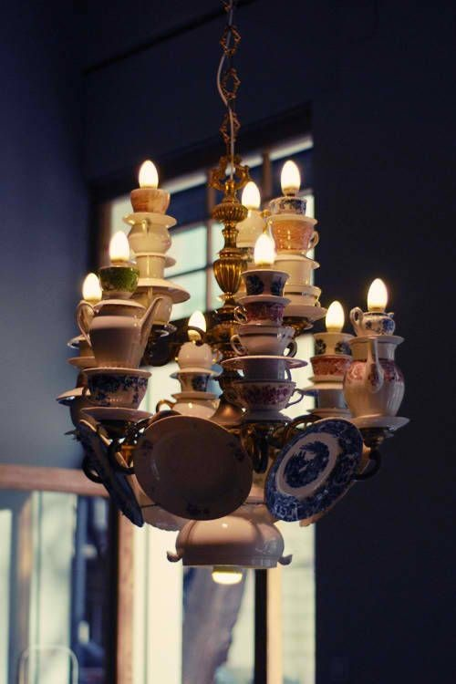 teapot on cup images teacup lighting lamps lamp best tea pinterest chandelier