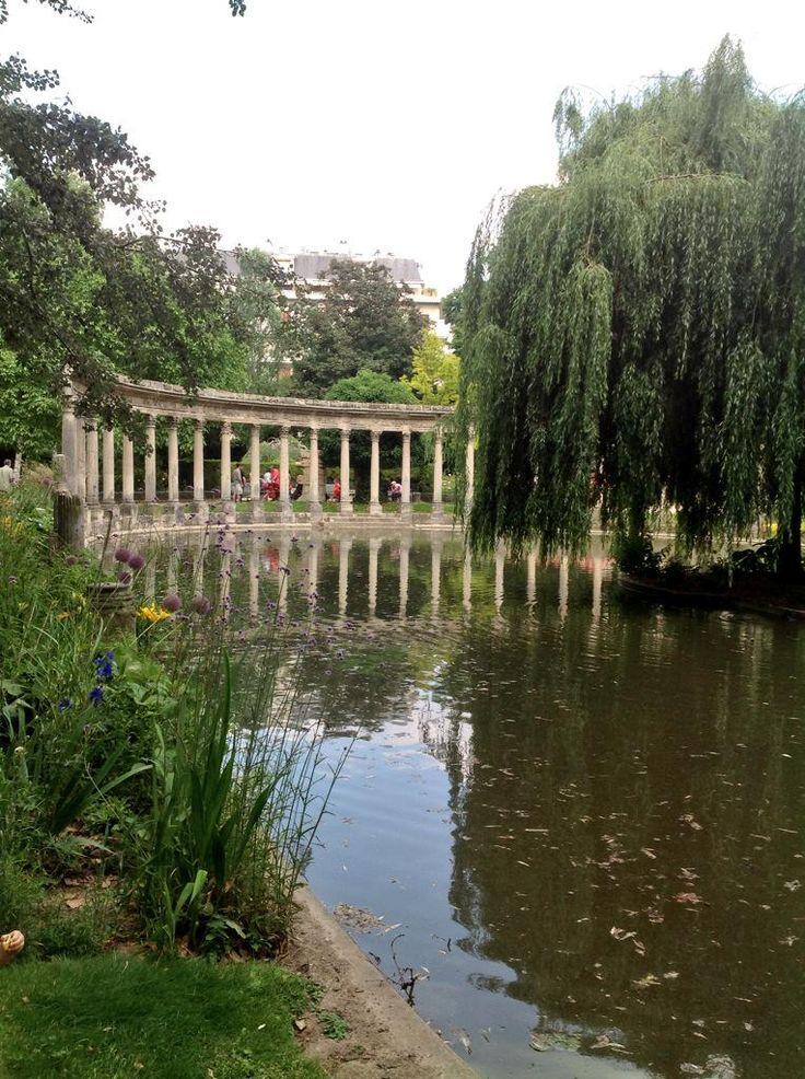 C'est l'#été à #Paris et au parc Monceau ! profitez! http://paris-visites.voila.net #tourisme #meteo #tourism #France