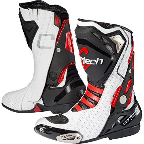 Cheap Cortech Impulse Air RR Mens Riding On-Road Motorcycle Boots  White/Red / Size 12.5 https://motorcyclejacketsusa.info/cheap-cortech-impulse-air-rr-mens-riding-on-road-motorcycle-boots-whitered-size-12-5/