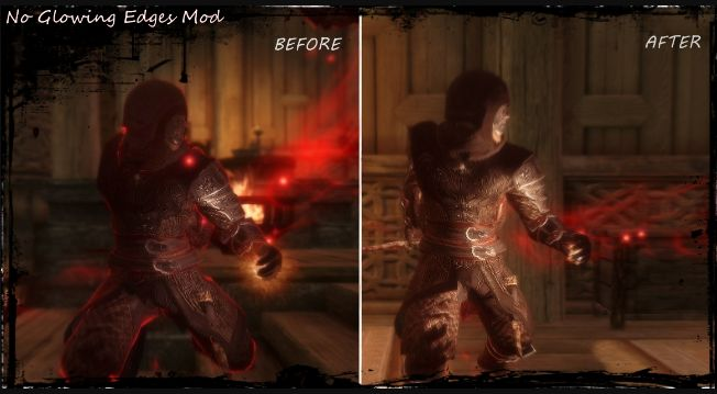 No More Glowing Edges Mod at Skyrim Nexus - mods and community