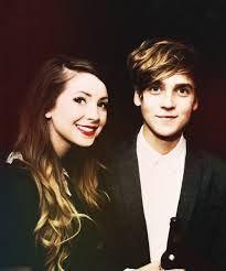 Best looking siblings of Youtube British Zoe and Joe Sugg