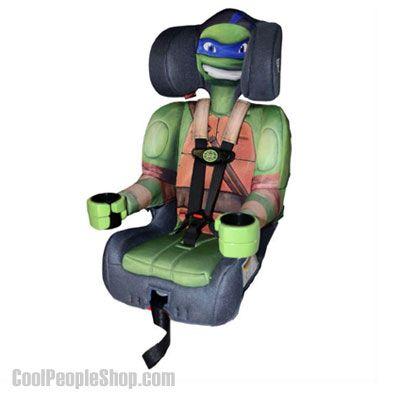 Ninja Turtle Harness Booster Seat http://www.coolpeopleshop.com/products/for-kids/ninja-turtle-harness-booster-seat/  Check out for this cool Teenage Mutant Ninja Turtles Booster car seat. Featuring Leonardo, ninja turtle with blue headband.  This Harnessed Booster Weight Limit: 22-65 lbs and Booster Car Seat Weight Limit: 30-100 lbs. The boosters also has 2 cup holders.   #tmnt #ninja #turtles #turtle #babyseat #safety #cool #ninjaturtle #cool