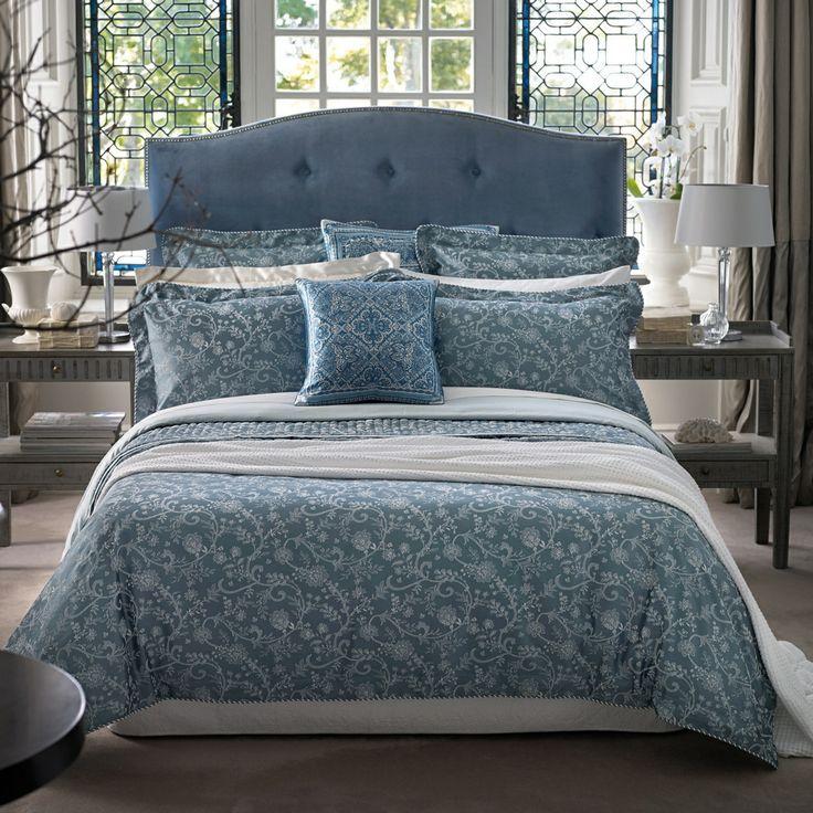 Sheridan Blue  Dumas  bed linen  at Debenhams com. 34 best blue bedroom images on Pinterest   Blue bedrooms  Bedding