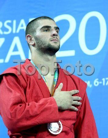 2244956 Russia, Kazan. 07/15/2013 Peter Paltchik, Israel, winner of the silver…