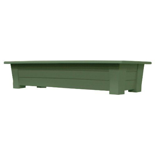Adams Manufacturing 9302-01-3740 36-Inch Deck Planter, Sage Green by Adams. Save 17 Off!. $28.00. Easy to open drainage hole is very convenient. Available in brown color. It is strong and sturdy; rated to hold 150 pounds. Deck planter. 4 branch hooks per blister pack; this product weight 1 pounds. The deck planter is perfect for vegetables, flowers and herb gardens. It has an easy to open drainage hole. It is strong and sturdy. This planter holds up to 150 pounds and includes 4 ...