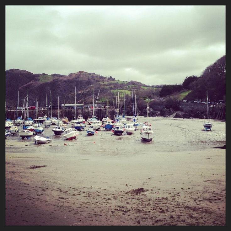 ilfracombe - The view of the Harbour from the Brittania.
