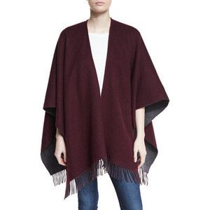 Rag & Bone Wool Felt Double-Face Wrap