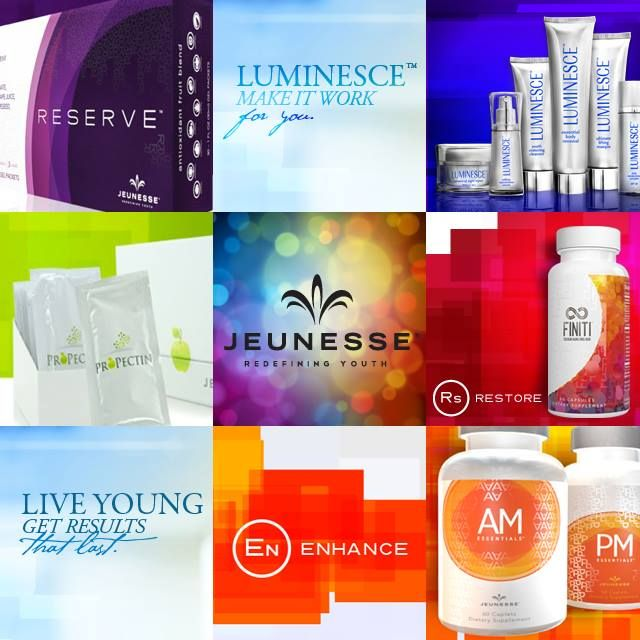 Jeunesse® combines breakthrough sciences in a product system that enhances youth by working at the cellular level. By focusing on the health, longevity, and renewal of cells, we help people enjoy vibrant, youthful results that last.
