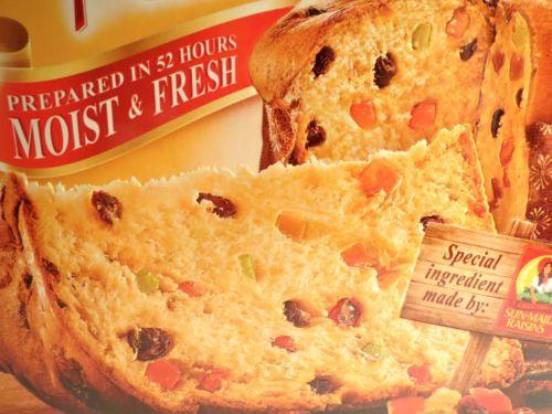 Panettone Bauducco Specialty Raisin Cake Toast 26.20 oz 750 grams WW Points 7