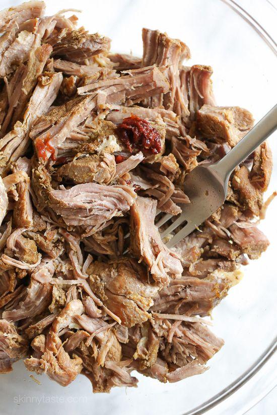 Slow Cooker Pork Carnitas (Mexican Pulled Pork) | Skinnytaste