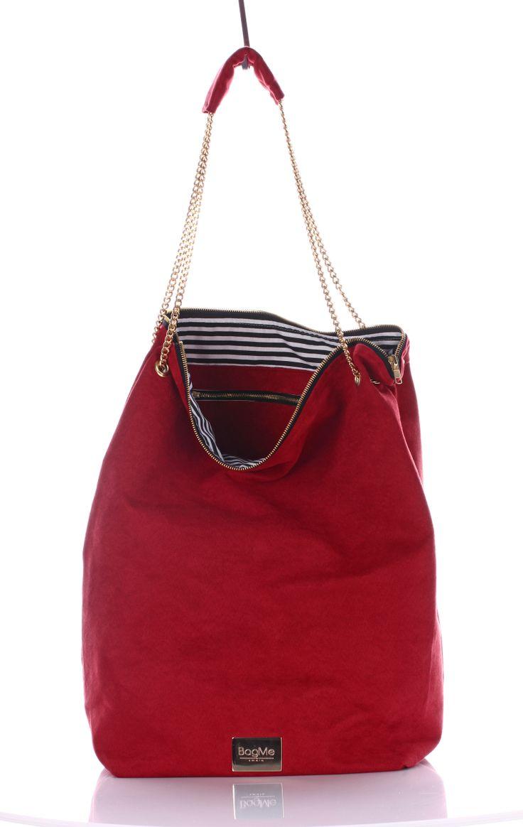 Bag of secrets Red Suede   get at;  http://www.bagmebysmola.pl/kategoria/eko-zamsz/bag-of-secrets-red-suede