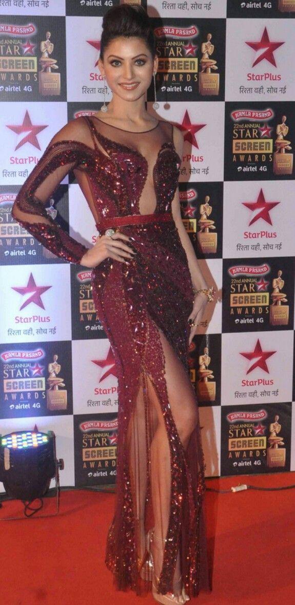Urvashi at 22nd Annual Star Screen Awards
