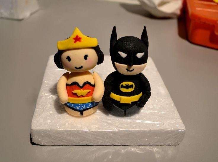 Wonder Woman & Batman  https://www.facebook.com/petit.paradise/photos