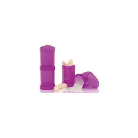Twistshake Контейнер для сухой смеси 100 мл. 2 шт., TwistShake, фиолетовый  — 499р.  Контейнер для сухой смеси 100 мл. 2 шт., фиолетовый от шведского бренда Twistshake (Твистшейк), придет по вкусу малышам и современным родителям. Эти контейнеры прекрасно подходят для хранения детской смеси и оптимальны в использовании, их горлышко меньше горлышка любых бутылочек Twistshake (Твистшейк), потому позволяют пересыпать смесь без просыпания. Контейнеры также подходят для хранения каш, фруктов…