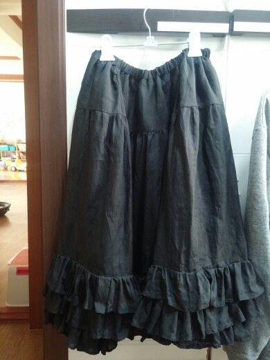 #Princess skirt#공주스커트#속치마#레이어드치마#옷만들기#핸드메이드