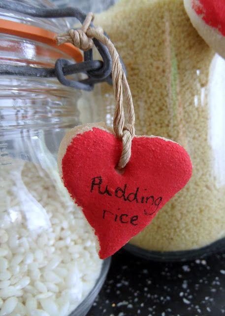 salt dough jar label by Craft with Ruth Cartwright