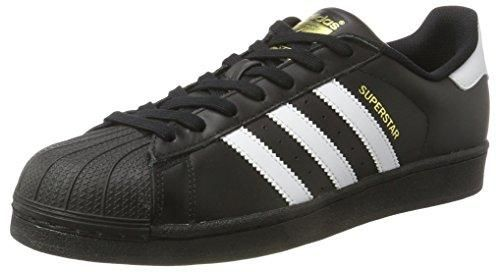 Oferta: 99.95€ Dto: -38%. Comprar Ofertas de Adidas Superstar Foundation - Zapatillas para hombre, color Negro (Core Black/ftwr White/core Black), 41 1/3 EU barato. ¡Mira las ofertas!