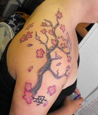 Tatuagem Feminina nos Ombros (10)
