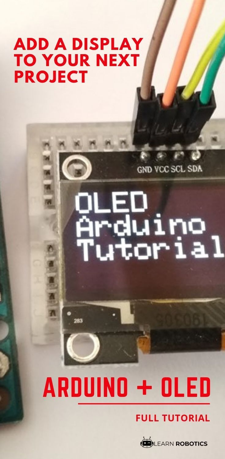 OLED Display with Arduino Tutorial