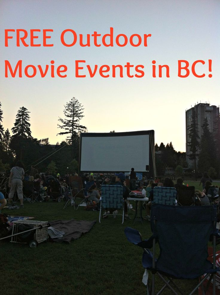 FREE Outdoor Movie Events in BC!