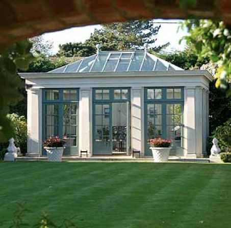 only in my dream....<3 Greenhouse, potting shed, orangerie