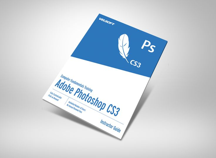 Adobe Photoshop CS3 - Foundation Courseware ➜ To DOWNLOAD this Free as a sample click on the image above. #velsoft #courseware #trainingmaterials