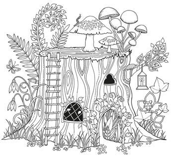 Tronco de árvore - Floresta Encantada. The top selling book on Amazon right now is a coloring book for adults