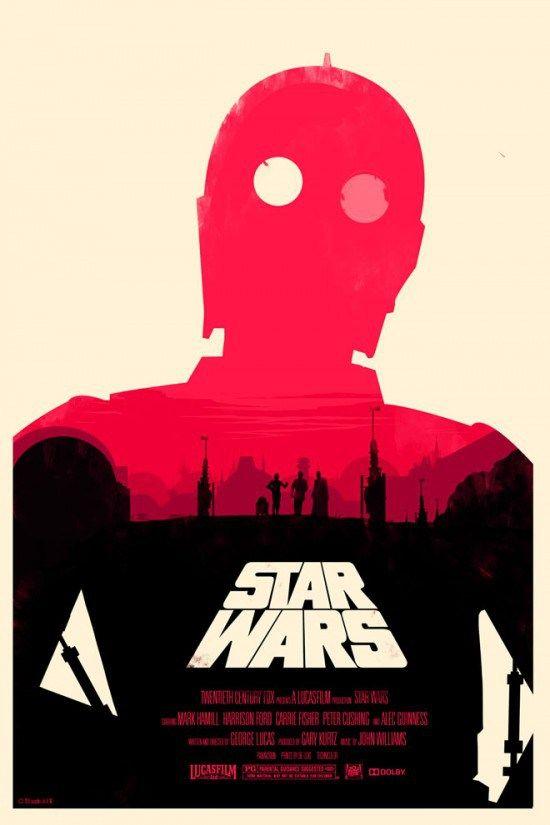 """Affiche originale Mondo """"Star Wars"""" par Olly Moss (12/20/10) numérotée. Variante Taille 24"""" x 36"""" édition de 400 exemplaires au monde.@asgalerie #asgalerie #ollymoss #anewhope #starwars #mondo."""