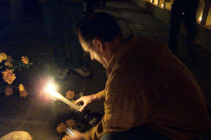 Relighting a candle