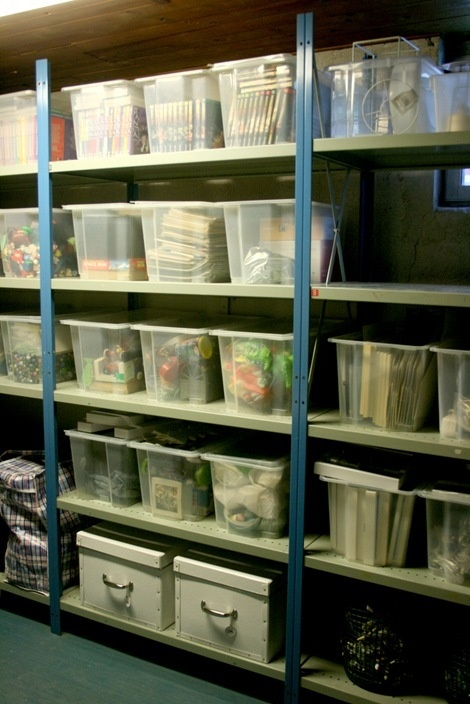 100 Best Images About Basement Storage Ideas On Pinterest
