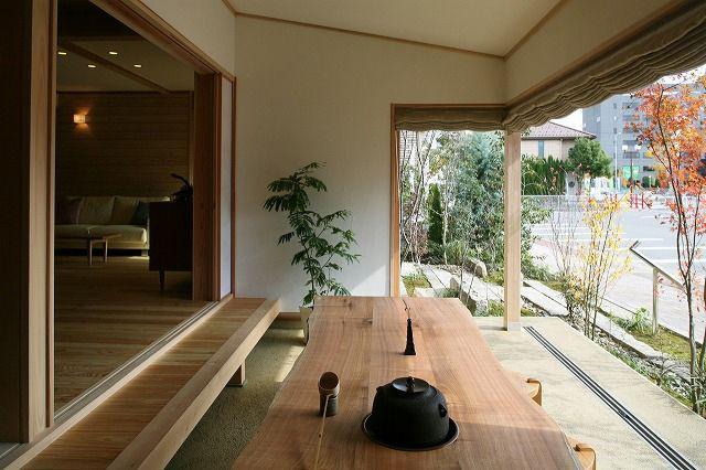 住宅の土間のデザイン [信州を楽しむ住まい 土間サロン]