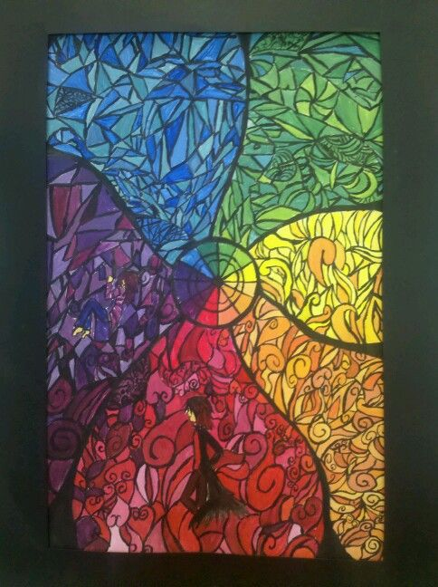 17 best images about color wheel on pinterest keith for Arts and crafts for middle school