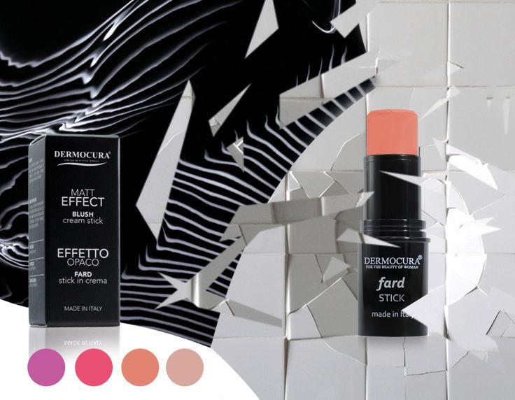 Gr Graphic design - Giuseppe Rotondo Design for Dermocura- Blush/Fard Stick