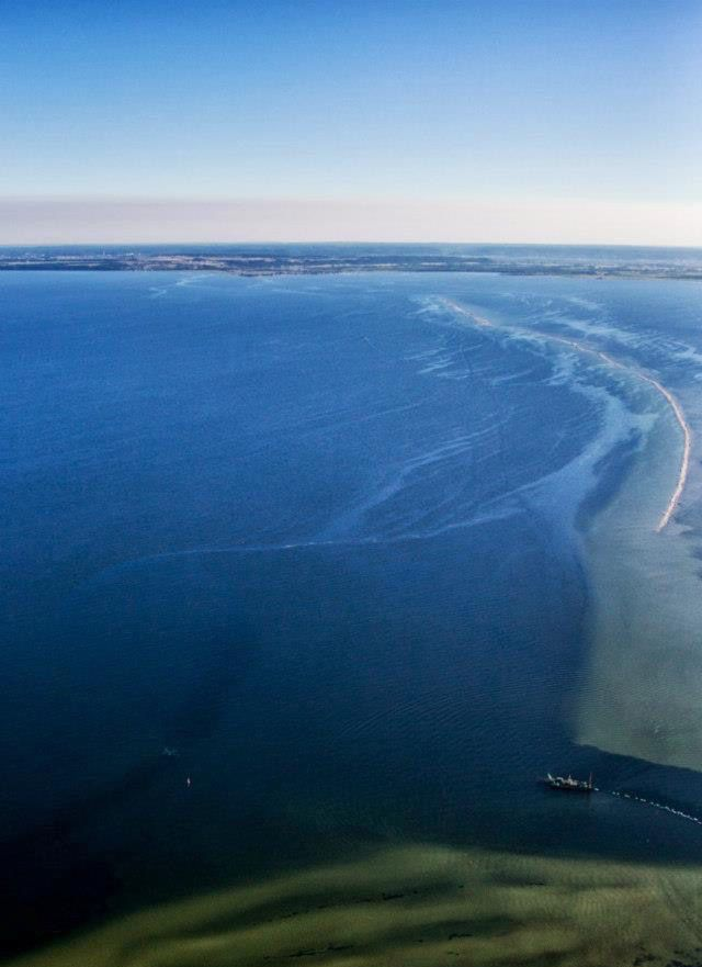 Półwysep helski. Chałupy. Zatoka.