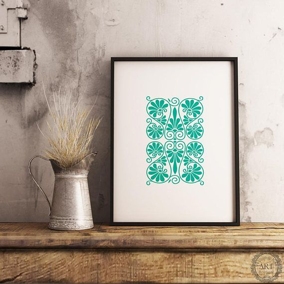 https://www.etsy.com/ca/listing/534567606/turquoise-print-wall-art-ancient-greek