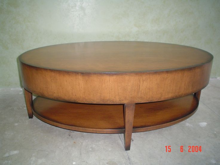 Ash wood coffee table refinished by AM Furniture Finishing