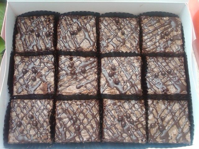 Brownies Cappucino, @ brownies outbox , Jakarta, Indonesia