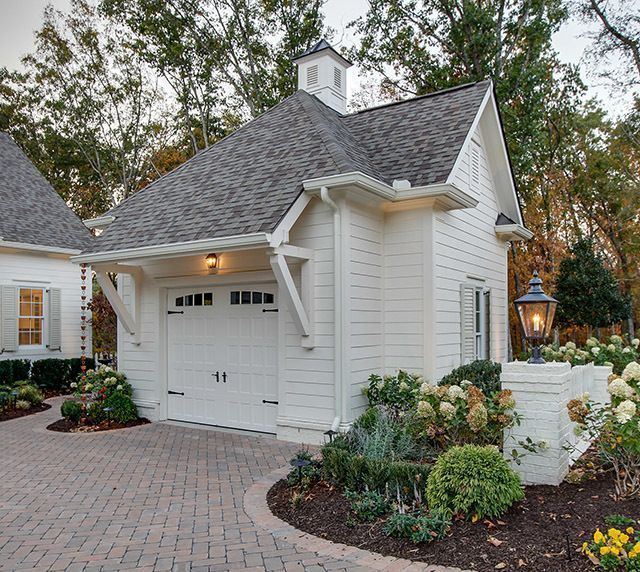 Arts And Crafts Style Shelves Arts Crafts Shelves Style Carriage House Garage House Exterior Farmhouse Landscaping